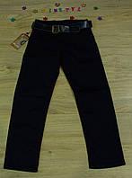 Модные  синие   брюки   для мальчика на рост 116-164 см