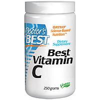 Doctor's Best, Порошкообразный витамин С (Best Vitamin C Powder) (250 г)