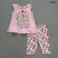 Летний костюм для девочки. 2-3;  4-5 лет, фото 1