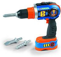 Smoby Дрель электронная Боб Строитель 360130 Bob The Builder Mechanical Drill, фото 1