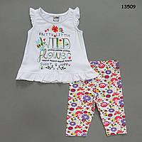Летний костюм для девочки. 2-3;  4-5;  5-6 лет, фото 1