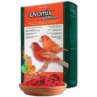 Ovomix Gold Rosso. Дополнительный мягкий корм для птиц с красным оперением 300гр, фото 1