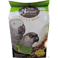 Корм для крупных африканских попугаев Deli Nature 5* menu (African parrots), фото 1