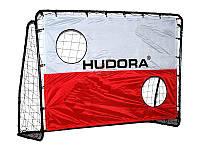 Футбольные ворота с экраном 25мм 213х152см. фирмы HUDORA
