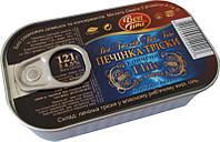 Печень трески Best Time копченая, 121 г (Исландия)