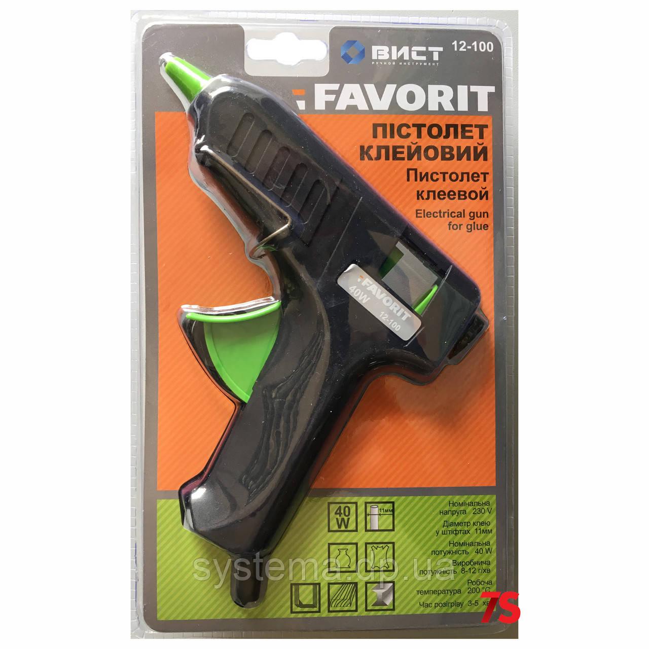 Клеевой пистолет, электрический, 11 мм, 40 Вт