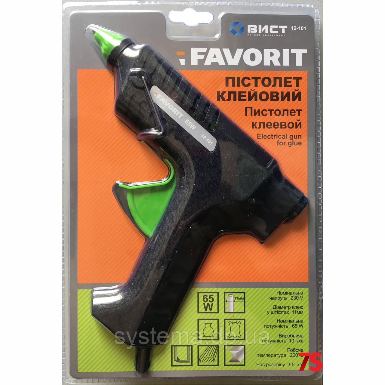 Клеевой пистолет, электрический, 11 мм, 65 Вт