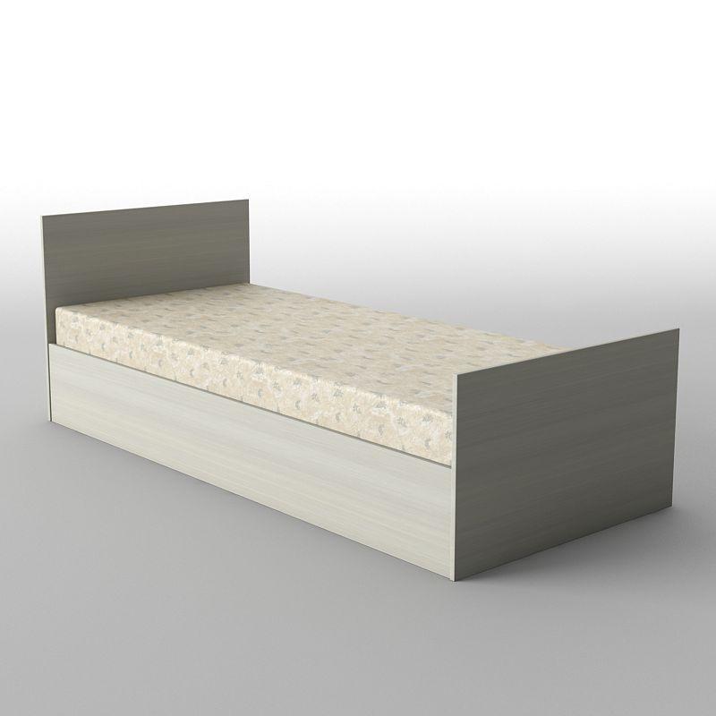 Ліжко односпальні в спальню/дитячу КР-100 Тіса меблі
