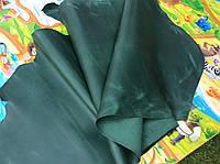 Натуральная кожа КРС Крейзи-хорс зеленого цвета, фото 1
