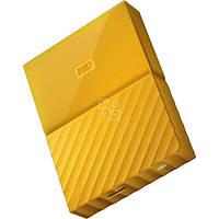 Жесткий диск WD USB3.0 4TB My Passport Yellow WDBYFT0040BYL-WESN
