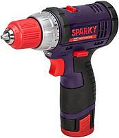 Шуруповерт SPARKY аккумуляторный BR2 10.8Li-С (HD серия) 10.8В,1,5А/г,0-500 об/мин,0,95кг,кейс