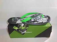 Мужские вьетнамки Rider R1 Energy VI Black/Green 82024 (42/44/45/46)