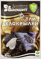"""Инсектицид и акарицид """"Биощит от тли и белокрылки"""" ТМ """"Агромакси"""" 2мл"""