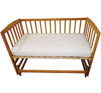Матрас в детскую кроватку LUX MAX микрофибра