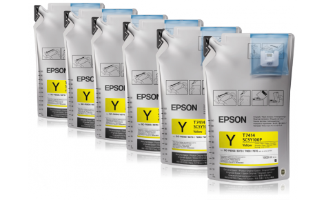 Сублимационные чернила EPSON SC-F Series YELLOW 1л.