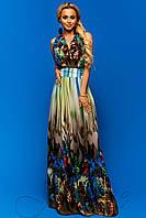Ослепительное шифоновое платье Карри