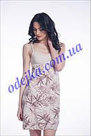 Домашнее платье, сорочка женская LND 025/001 (ELLEN). Коллекция весна-лето 2017! Спешите быть первыми!