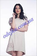 Домашнее платье, сорочка женская LND 026/001 (ELLEN). Коллекция весна-лето 2017! Спешите быть первыми!