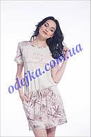 Домашнее платье, сорочка женская LND 066/003 (ELLEN). Коллекция весна-лето 2017! Спешите быть первыми!