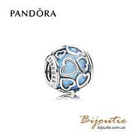 Pandora Шарм НЕБЕСНАЯ ЛЮБОВЬ #792036NBS серебро 925 Пандора оригинал