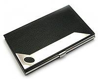 Визитница кожа хром (9,5х6х1 см)(CF-MV8301)
