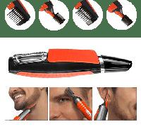 БЕСПРОВОДНАЯ ЧУДО-БРИТВА X-TRIM, Триммер машинка для стрижки волос с насадками, бритва беспроводная X-TRIM