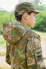 Кепка детская Немка для мальчиков камуфляж Варанчик, фото 2