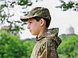 Кепка детская Немка для мальчиков камуфляж Варанчик, фото 5