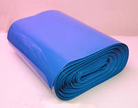 Термоусадочная изоляционная трубка синяя ширина 85мм, диам. 55мм, 1м