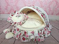 Лежак для собак Колыбелька Прованская роза