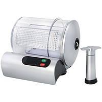 Маринатор вакуумный Astor 9 min Grey, универсальный экспресс маринатор для дома, вакуумный маринатор 9 минут