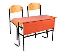 Парты и стулья .Школьная мебель.