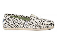 Женские TOMS Black Geometric Tie-Dyed, фото 1