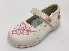 Детские туфли на девочку, детские белые туфли тм МХМ