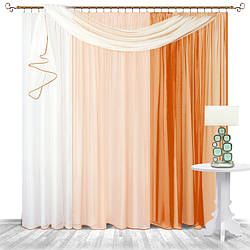 Комплект готовых штор для гостинной и зала 9
