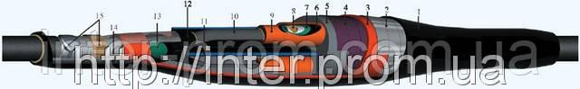 Муфта кабельная соединительная 4ПСТп-1- 70/120, 0,4-1 кВ с болтовыми соединителями