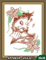 Схема для вышивки бисером Влюбленные