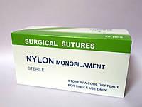 Шовный материал Нейлон монофиламент с иглой