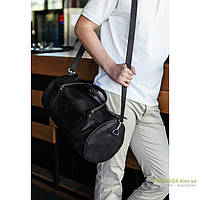 Мужская сумка из натуральной кожи BlankNote Harper bn-bag-14 темно-серого цвета