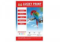 Глянцевая фотобумага Lucky Print (10*15, 230 гр.), 500 листов