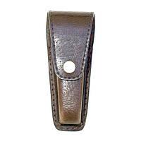 Футляр-коробка для перочинного ножа (конусный), (кожа свиная) 110 х 30 - 20 х 28 мм