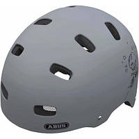 Детский шлем Abus Scraper KID v.2 grey ride, размер S