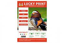 Глянцевая фотобумага Lucky Print (A4, 135г/м2) 50 листов, самоклейка