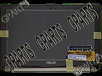 Верхняя часть корпуса в сборе (тачскрин + экран + крышка с петлями) для ноутбука Asus ZenBook UX21