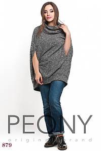 Женская туника Колорадо (50-52 размер, серый) ТМ «PEONY»
