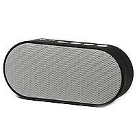 Универсльная bluetooth-колонка BL Man mj серая для прослушивания музыки поддержка microSD качестенное звучание