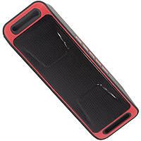 Беспроводная стерео колонка Music BL SC208 красная с микрофоном мини bluetooth FM-радио USB AUX microSD mp3