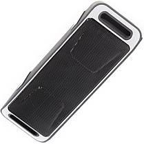 Портативная bluetooth колонка Music BL SC208 серая беспроводная с микрофоном музыкальная FM USB AUX microSD, фото 3