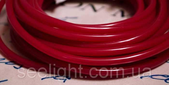 Электролюминесцентный провод (холодный гибкий неон) III поколение, диаметр- 5мм., цвет- пурпурный, фото 2