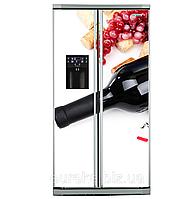 Виниловые наклейки на холодильник типа Side-by-side Еда и напитки